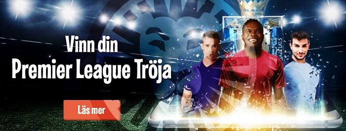 Vinn Premier League tröja hos LeoVegas